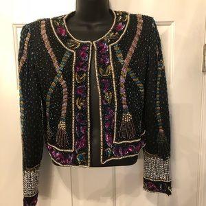 Jackets & Blazers - Gorgeous vintage beaded jacket